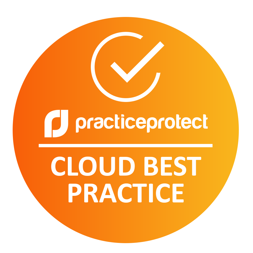 Certified Bookkeeper Queensland using Practice Protect - Cloud Best Practice Logo